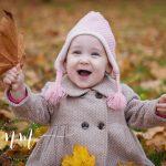 Fericire reala - poza copil in natura
