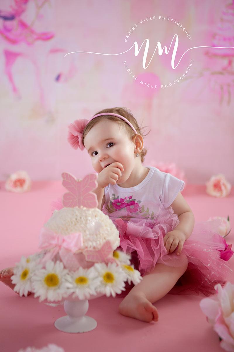 Cake smash pentru bebelusi