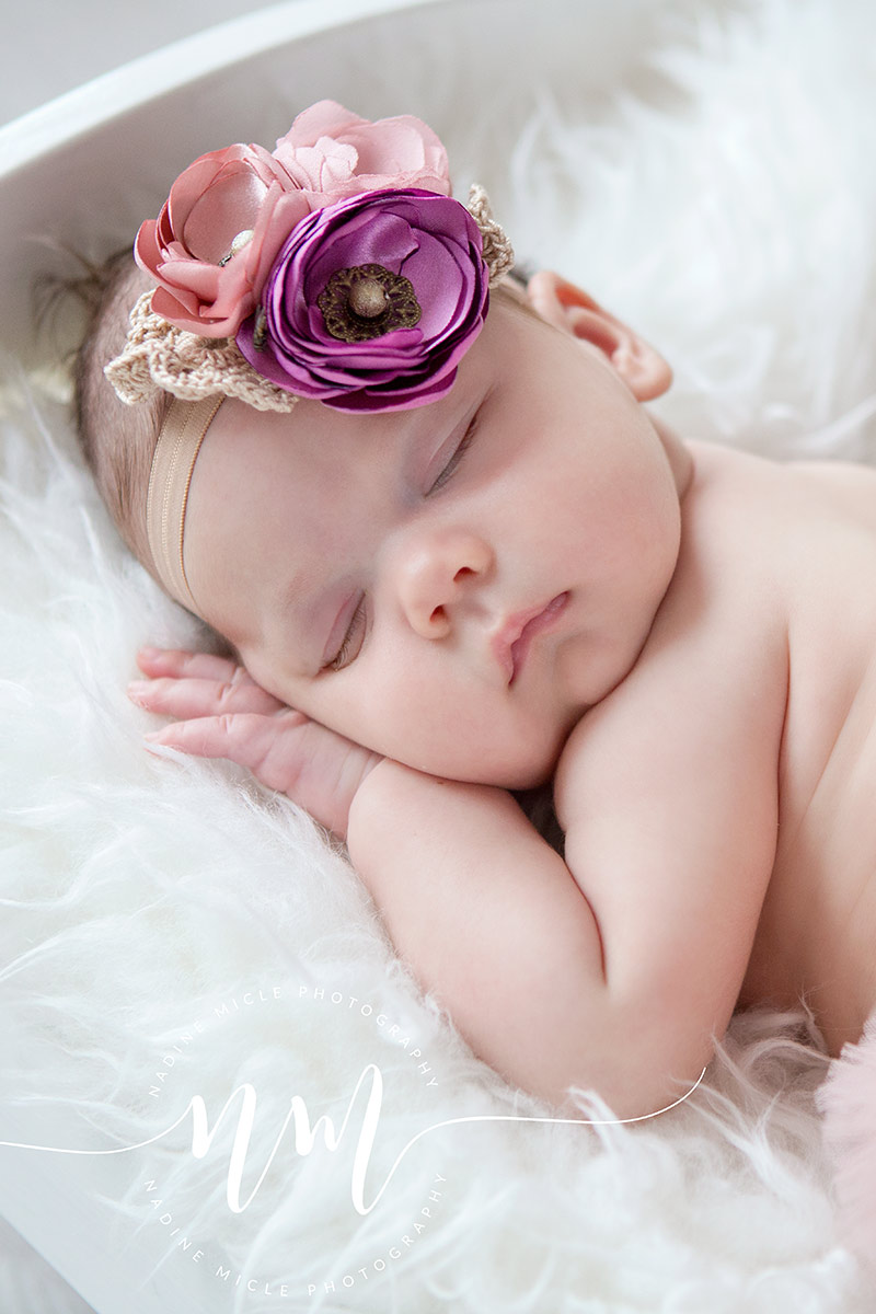 Nou nascut -  Fetita dormind