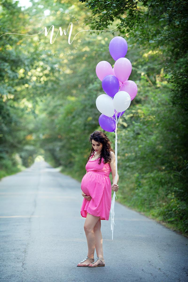 Sesiune foto gravida ultimul trimestru