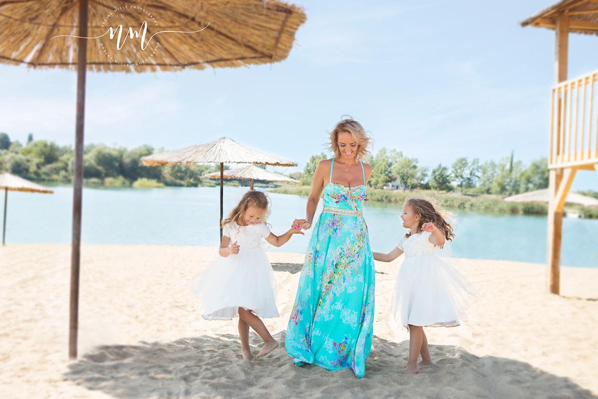 Sesiune foto la plaja