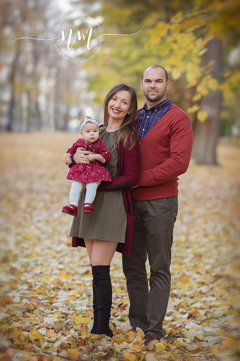 Parintii cu fetita de 5 luni