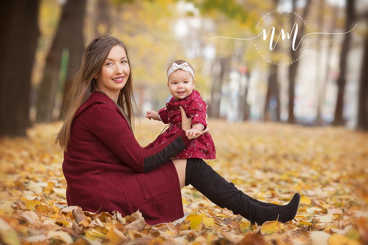 Sesiune foto fetita cu mama