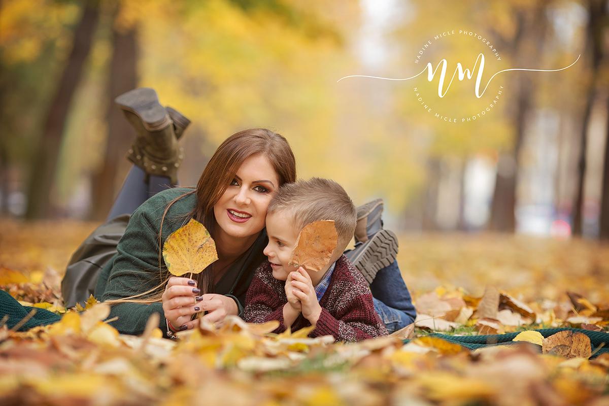 Poze de toamna cu copii